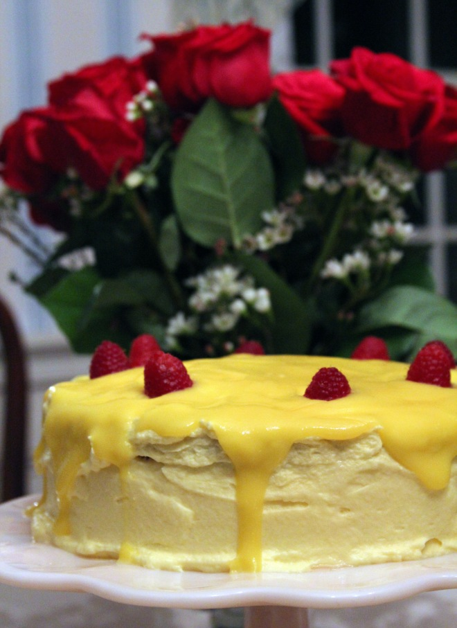 lemon raspberry cake 2